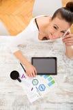 Entwickeln eines Unternehmensplans Lizenzfreie Stockfotografie