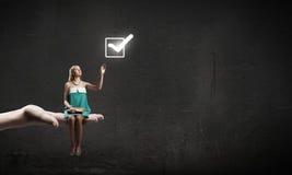 Entwickeln Sie Ihre Fantasie! Stockbild