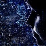 Entwicklung. Abstrakte Wissenschaft backrounds Stockbild