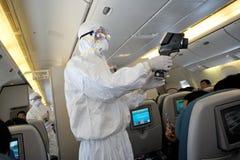 Entwicklung der Grippe H1n1 Stockbilder