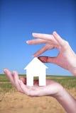 Entwicklung des Landes für Neubauwohnungen Stockbild