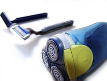 Entwicklung des Rasiermessers lizenzfreie stockfotos