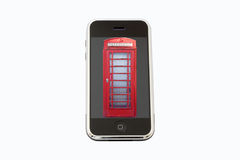 Entwicklung des Telefons Stockfotografie