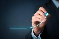 Entwicklung und Wachstum Lizenzfreie Stockfotos
