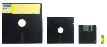 Entwicklung von Disketten Stockfotografie