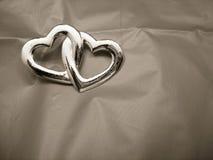 entwined сердца 2 Стоковые Изображения