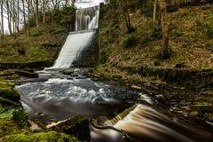 Entwistle-Reservoirüberlauf Lizenzfreies Stockbild