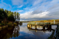 Entwistle Reservoir Royalty Free Stock Images