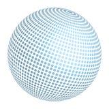 Entworfener Ball Stockbild