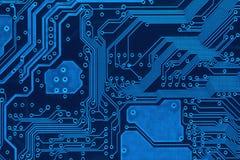 Entwurf auf einem blauen Hintergrund Lizenzfreie Stockfotos