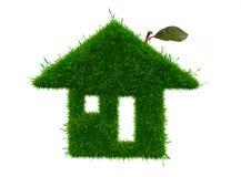 Entwurf des grünen Hauses Lizenzfreie Stockfotografie