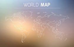 Entwurfs-Illustration der Welt Lizenzfreie Stockfotos