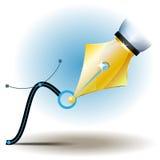 Entwurfs-Vektor Pen Tool Lizenzfreies Stockfoto