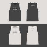 Entwurfsschablone das T-Shirt der Männer Lizenzfreie Stockfotos