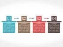 Entwurfsschablone mit vier Elementen Lizenzfreie Stockfotos