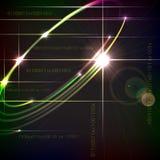 Entwurfstechnologiehintergrund. Lizenzfreie Stockbilder