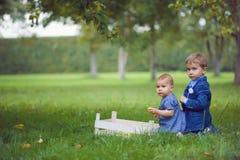 Entzückende Kinder Lizenzfreies Stockbild