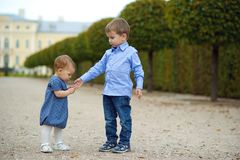 Entzückende Kinder Stockfoto