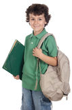 Entzückender Kindkursteilnehmer Stockfoto