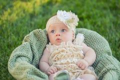 Entzückendes Baby Stockbild