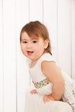 Entzückendes Baby des Porträts Stockbild