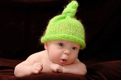 Entzückendes Babyporträt Lizenzfreie Stockfotografie