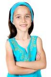 Entzückendes beiläufiges Mädchen Lizenzfreie Stockbilder