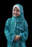 Entzückendes junges moslemisches Mädchen Stockfotografie