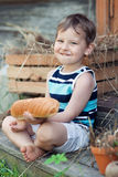 Entzückendes Kind Stockbild