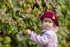 Entzückendes Kind Lizenzfreie Stockfotos