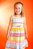 Entzückendes kleines Mädchen Lizenzfreie Stockfotos