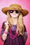 Entzückendes Mädchen Lizenzfreie Stockbilder