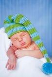 Entzückendes neugeborenes Schätzchen Stockfoto