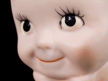 Entzückendes Schätzchen - Puppe Gesicht Stockfotografie