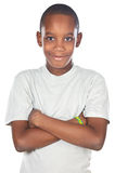 Entzückender afrikanischer Junge Stockbild