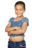 Entzückendes beiläufiges Mädchen Stockbild
