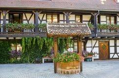 Entzheim (Alsace) - Court Stock Photo