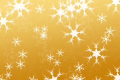 Entziehen Sie Aufbau, Schneehintergrundgold Lizenzfreie Stockbilder