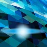Entziehen Sie blauen Hintergrund Lizenzfreie Stockbilder