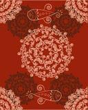 Entziehen Sie Blumenhintergrund Lizenzfreie Stockbilder