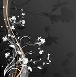Entziehen Sie Blumenhintergrund Stockfotografie