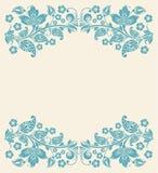 Entziehen Sie Blumenhintergrund Nahtlose Spitze Lizenzfreies Stockbild