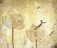 Entziehen Sie die alte grunge Wand lizenzfreie stockfotografie