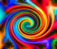 Entziehen Sie Farbenhintergrund stock abbildung