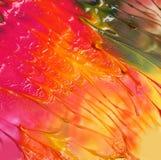 Entziehen Sie gemalten Acrylhintergrund Lizenzfreies Stockfoto