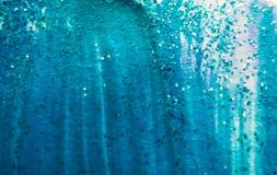 Entziehen Sie gemalten Hintergrund Bunte flüssige Effekte Schmutzflecken zerstreut auf Hintergrund Gut für: Wand-Kunst, Karten, D lizenzfreies stockbild