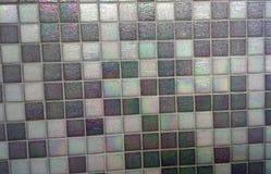 entziehen Sie Hintergrund Graues Mosaik Mosaikfliesen-Beschaffenheitshintergrund und Bildfoto Stockfotos