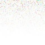 Entziehen Sie Hintergrund mit Farbenkreisen Lizenzfreies Stockfoto