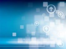 Entziehen Sie Hintergrund-Technologie Lizenzfreies Stockfoto