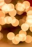 entziehen Sie Hintergrund Unscharfes buntes Kreise bokeh von Weihnachten Stockbild